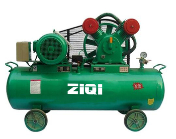 mobile oil less air compressor made in china