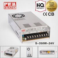 Electrical Equipment S-350-24 single output ac dc 24v 14.5a 350w led switching power supply model