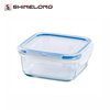D218 Square Glass Food Container
