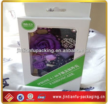 custom-made packaging boxes pvc window jtf