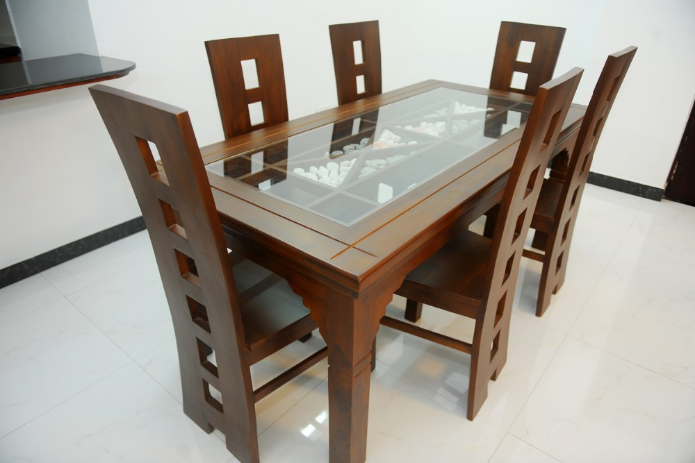 Mahogany Dining Set CONTESSA