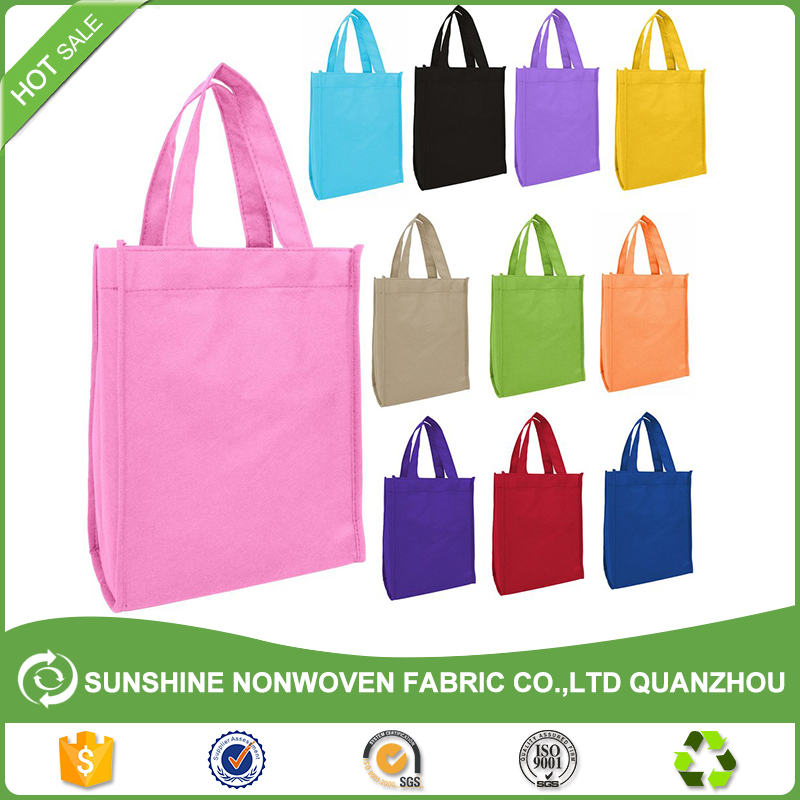 Superior quality 80g plain nonwoven PP handle shopping <strong>bag</strong> / Customized recycle non woven <strong>bag</strong>