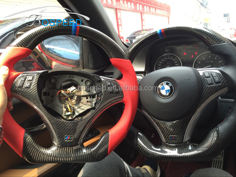 E90 E92 E93 Carbon Fiber Steering Wheel For BMW 3 Series E92 2006-2013