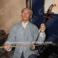 Folk character, handicraft carving waxwork