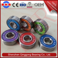 High Precision Original Miniature skateboard bearing 608 rs rz 2rs 2rz deep groove ball bearing