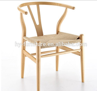 Wholesale cheap modern simple antique vintage classic furniture y arm solid wooden kitchen dining chair