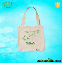 promotional organic cotton tote bags/cotton bag shopping bag