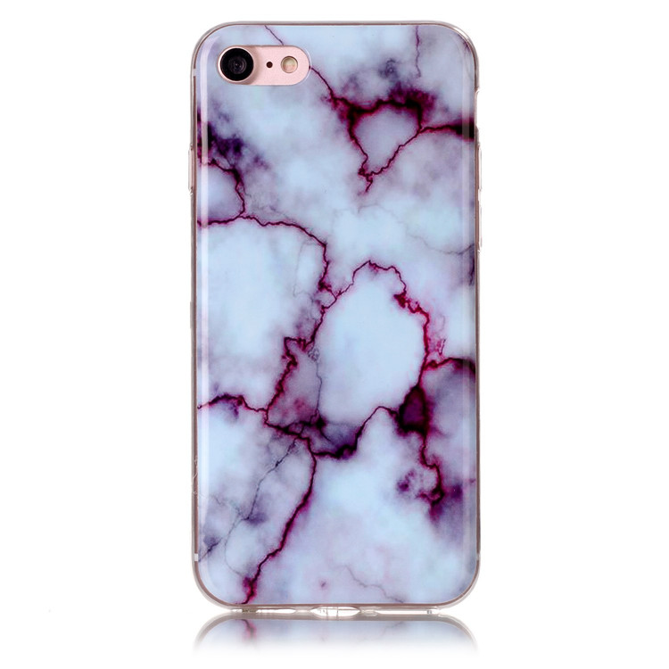 Housse Etui Coque Marble Skin Sublimation 3D Custom Printing TPU Cases Phone Cover for iPhone 5S SE