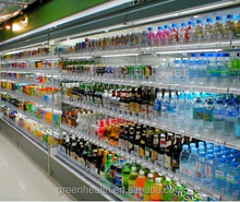Upright Display Open Chiller Used Daily Food Refrigerator Showcase for Supermarket for Sale