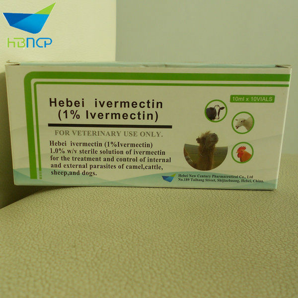 Plastic bottle Ivermectin Injection for veterinary use only