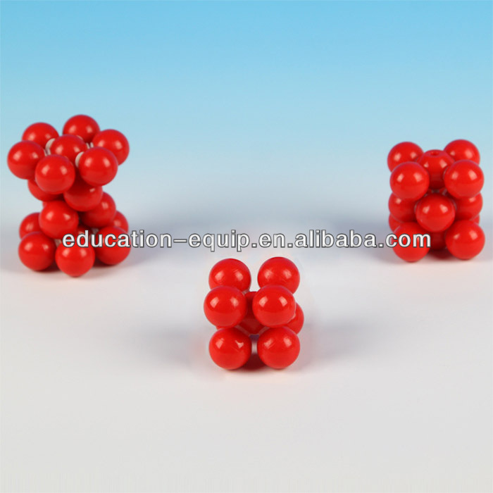 SE52072 Educational Chemistry Metallic Atomic Model Set