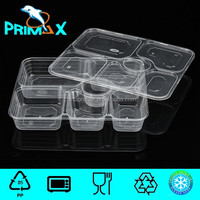 Microwave Six Compartments plastic food storage container