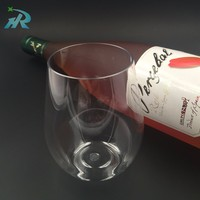 plastic wine glass polycarbonate globlet red wine cup glass manufacturer