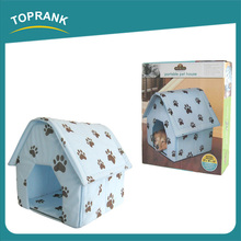 Toprank BSCI Factory Folding Indoor Pet Kennel Pet Bed Dog Kennel House