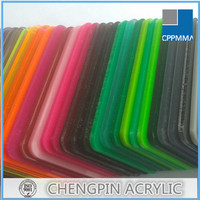 thickness 1.8 to 30mm colored china plexiglass manufacture