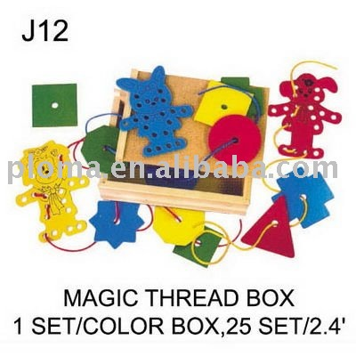 SEWING TOY FOR KID (J12) MAGIC THREAD BOX