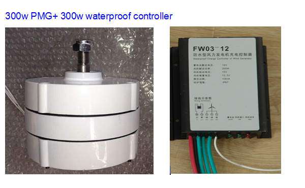 Mini generador de im n permanente 300 w ac 12 v 24 v - Mini generador electrico ...