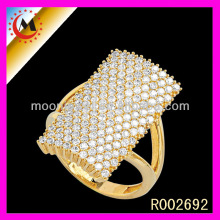 UNIQUE DESIGNS PHOTO WHITE DIAMOND BIG FINGER GOLD JEWELRY WHOLESALE,FASHION 24 CARAT GOLD WEDDING RING FOR SEX WOMEN