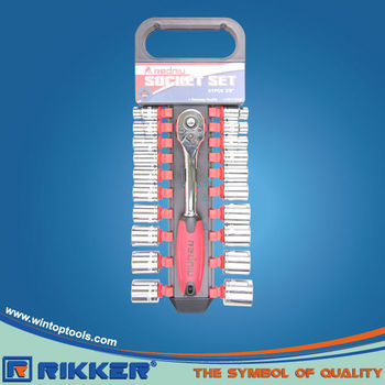 SOCKET WRENCH SET 21PC