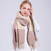 2017 wholesale women winter latest design indian shawls scarf tassels plaid cashmere pashmina shawl