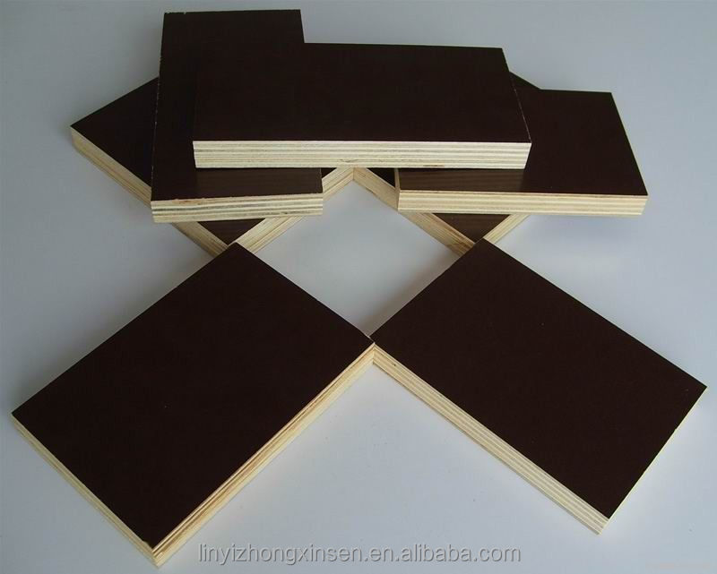 black film faced plywood/tego film face plywood