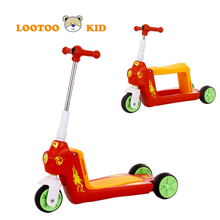 Alibaba china manufacturer hot sale cheap price kids foot kick trikke scooter