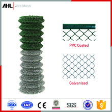 Factory Prices Wholesale Mini Black PVC Coated Galvanized Stainless Steel Wire Mesh Panels Roll for Sale Used Chain Link Fence
