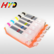 HYD new refillable ink cartridges for Canon PGI-550 CLI-551 ink cartridges