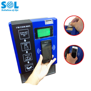 Indoor Self Service Coin Operated Access Point for WiFi Vending Service