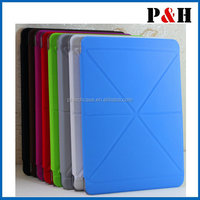 Multi Fold Origami Leather Smart Stand Folio Case Cover For iPad Air 1&2 Retina Display case