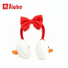 2018 ear cover merry christmas decor animal custom winter earmuff