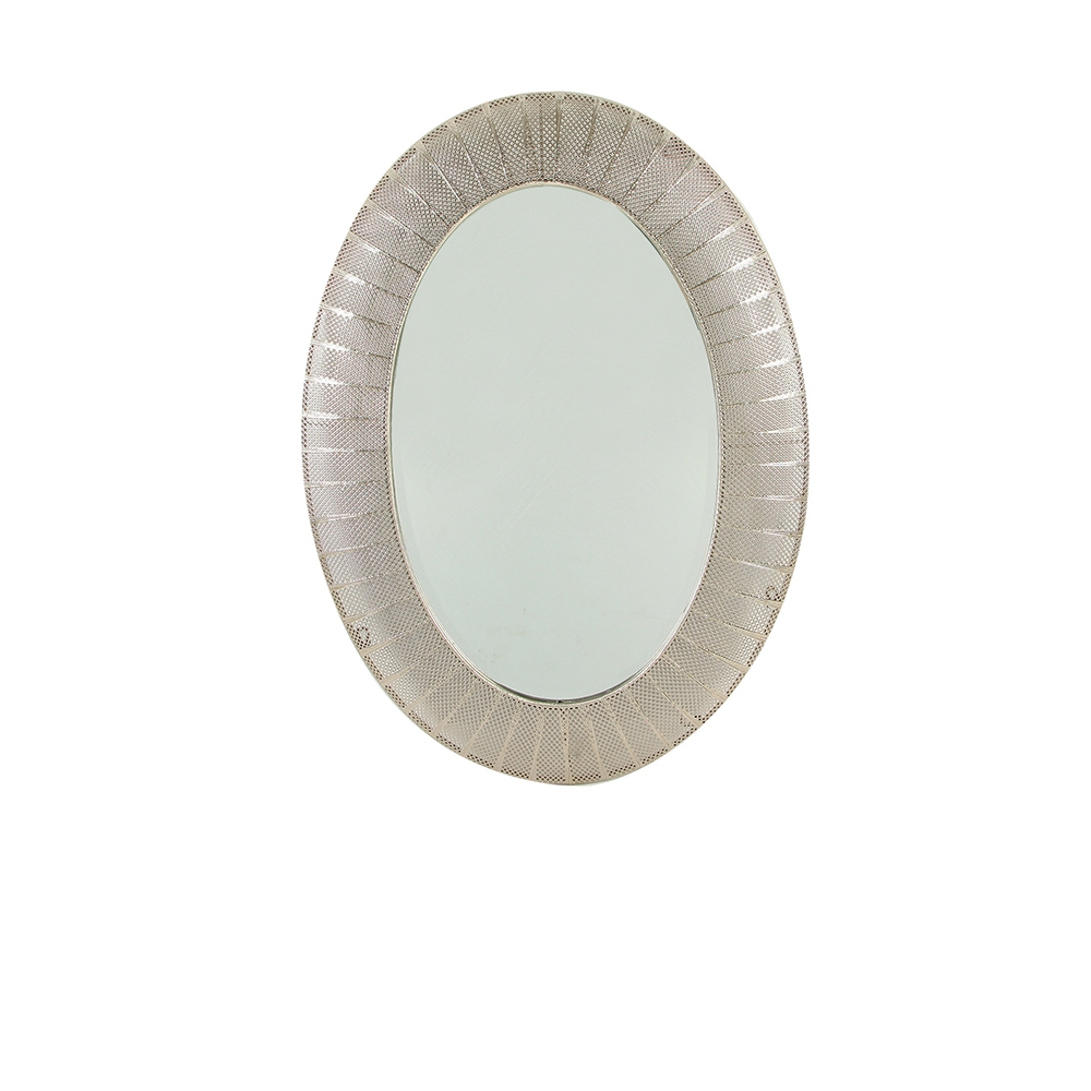 Factory Supplier Wall Hallway Oval Mirror Frame