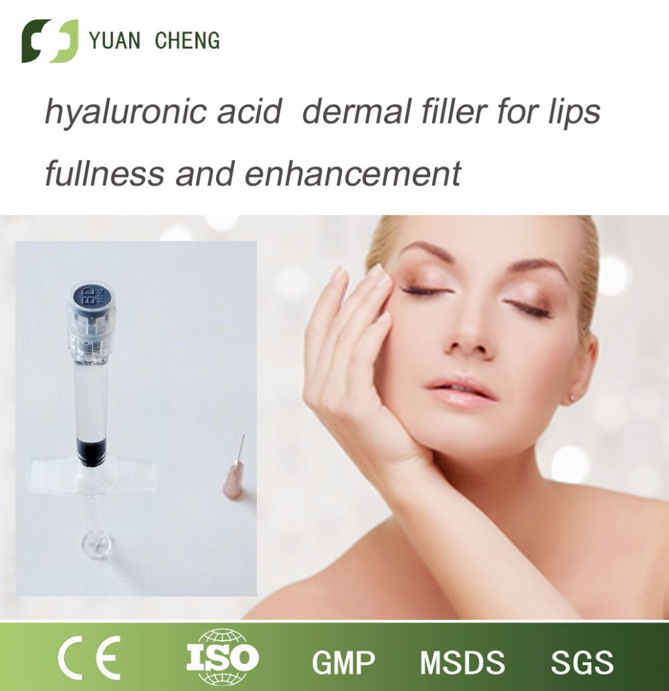 Hyaluron acid injection drugs for lips natural filling