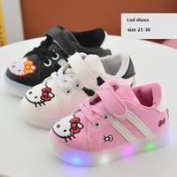KS30153C Cute children light shoes toddler cartoon led shoes
