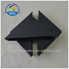 Easy to clean plastic corner/ environment plastic protect horn