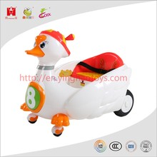 Hot sale outdoor radio control battery operated ride on swan for children