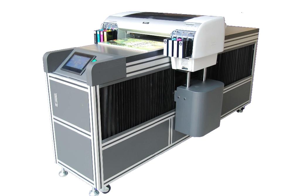 Digital Led Uv Flatbed Printer A2 Size Led Uv Printer
