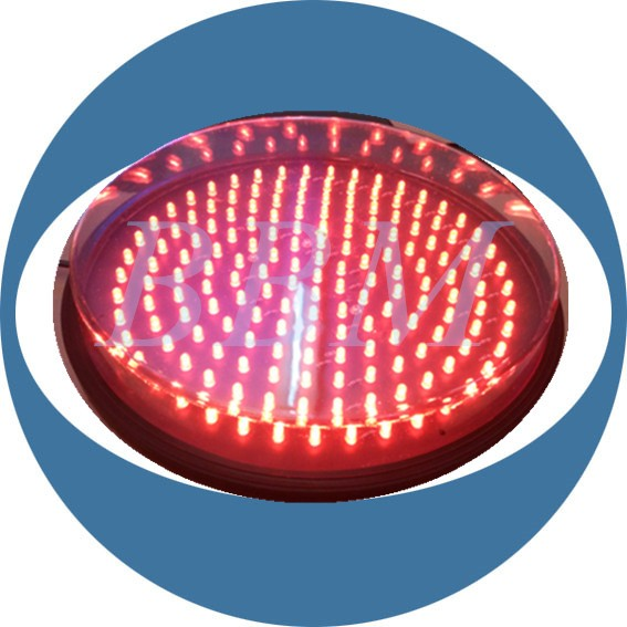 Round 300mm led road traffic sign board