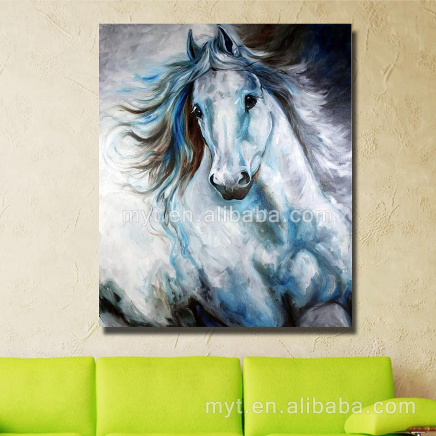High quality original design abstract horse oil painting on canvas
