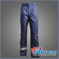 Oil and gas field Cotton/polyester 60/40 fire retardant safety cargo pants