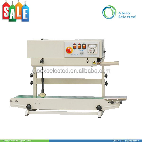 New type continous hot selling band sealer with inking wheel