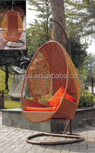 leisure ways swing hanging chair round rattan swing jhula swing