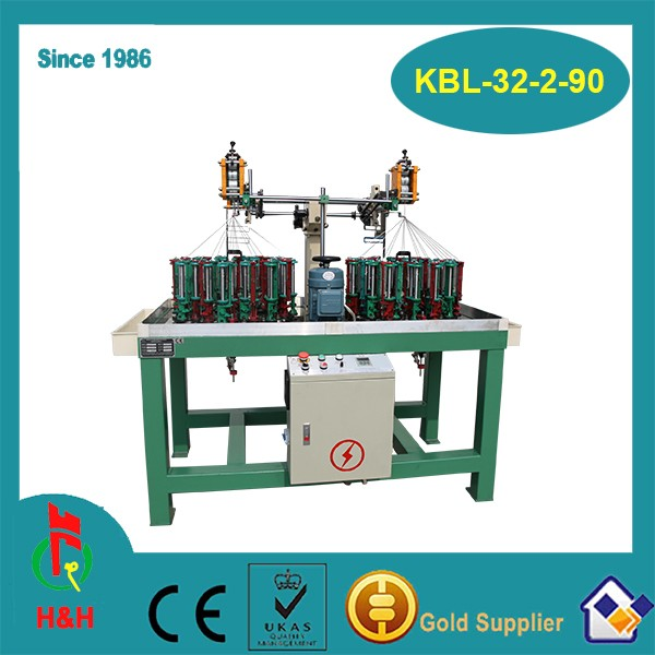 machine for making round and flat shoelace