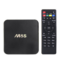 m8s android tv box 2G/8G Dual band 2.4G/5G wifi S812 quad core google android 4.4 tv box