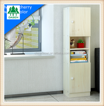 intelligent exclusive narrow wood bookcase