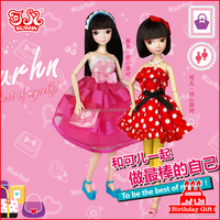 wholesale China fashion plastic dress-up doll clothes giftset