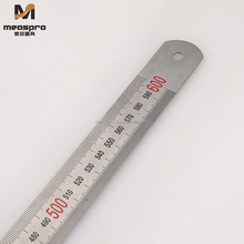 60cm/24Inch Stainless Steel Ruler Metal Ruler Straight Edge