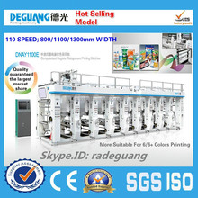 High quality plastic film gravure printing machine supplier