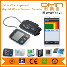 OEM customized digital bluetooth blood pressure monitor with API