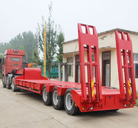 Lowest Price Low Loader Tri Axle